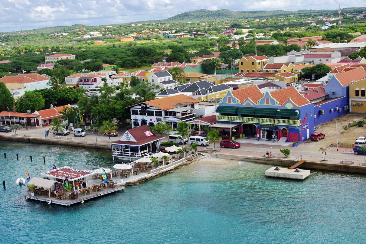 Kralendijk Bonaire boulevard