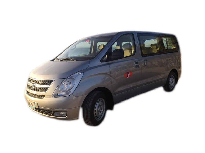car rental bonaire hyundai bus