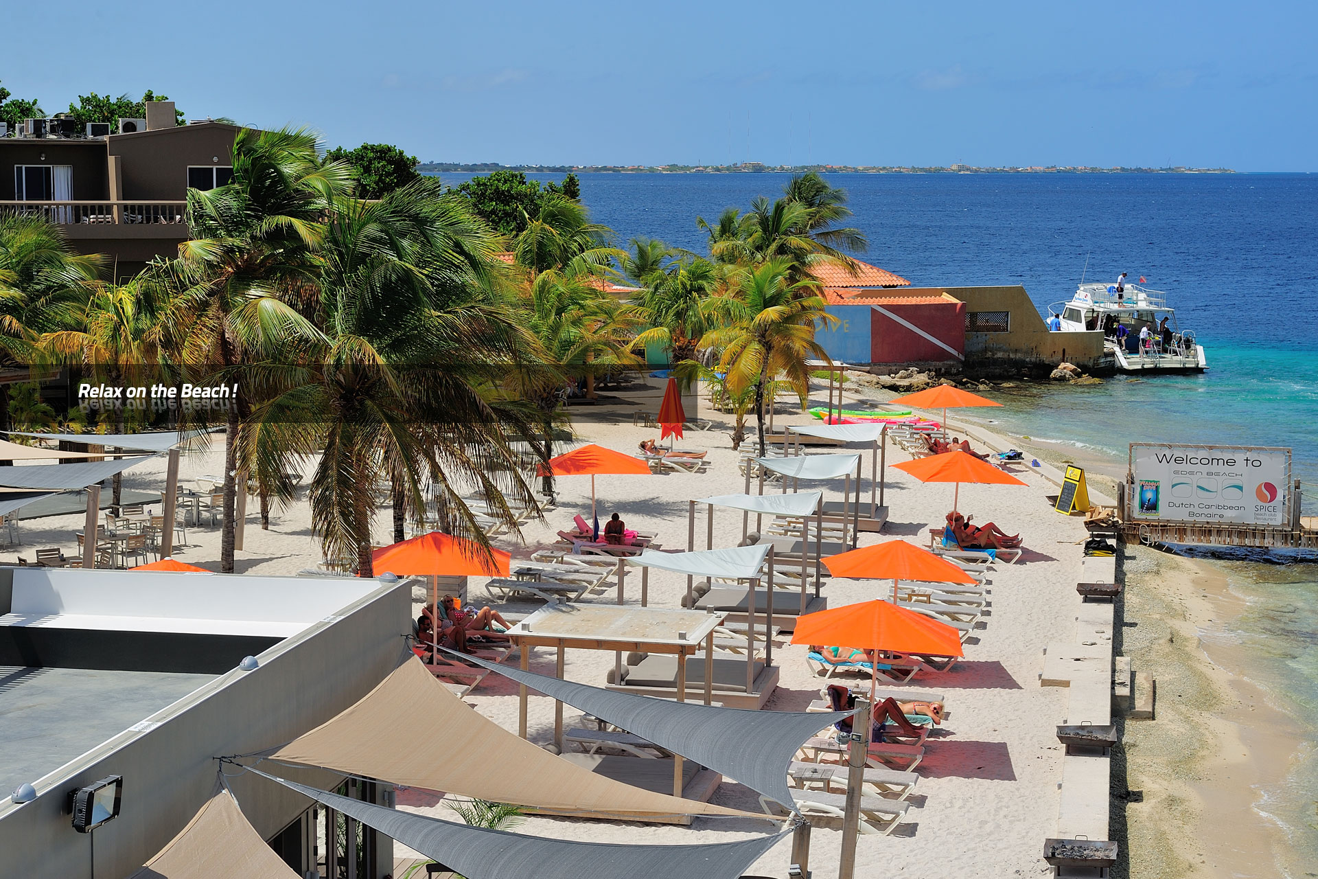 Eden beach resort bonaire relax