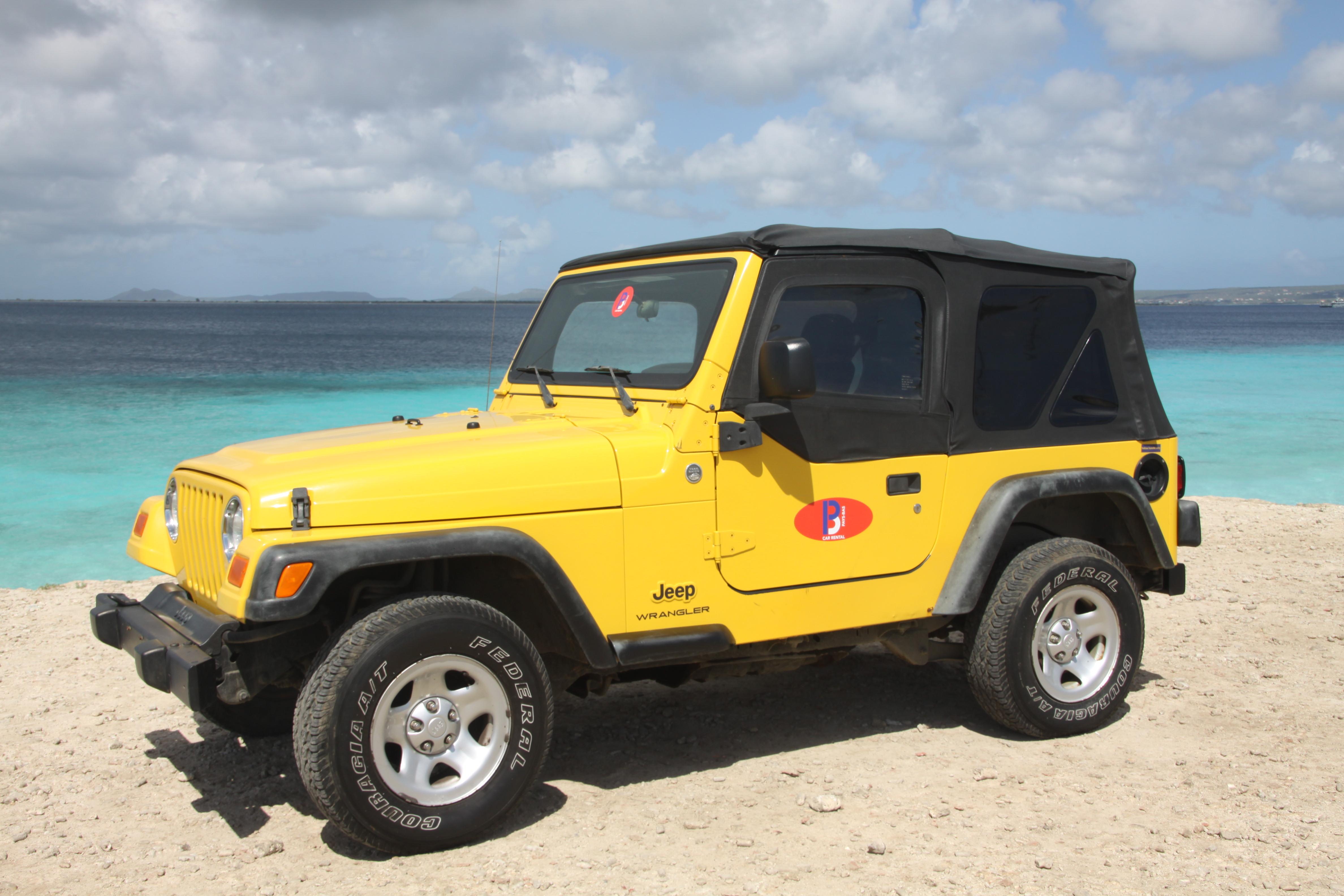 Bonaire Car Rental Jeep